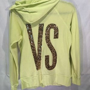 Victoria's Secret zip up sweatshirt hoodie M